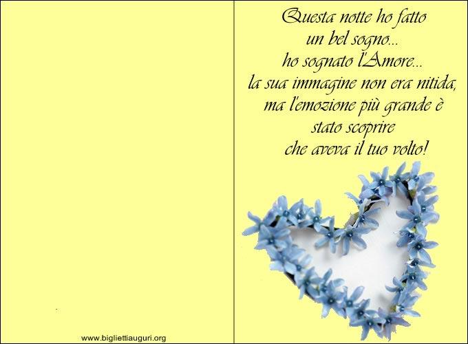 Biglietti Di Compleanno Amore Da Stampare Images