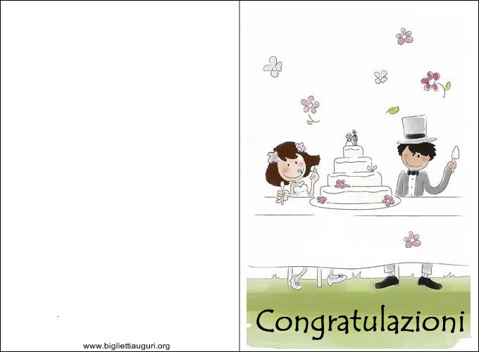 Auguri Matrimonio Rock : Biglietti auguri matrimonio originali ti regardsdefemmes