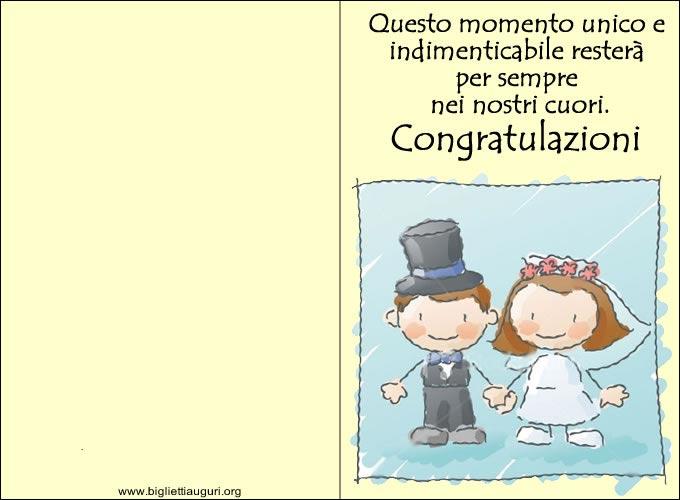 Biglietti Auguri Matrimonio Originali : Biglietti auguri matrimonio tanti bellissimi